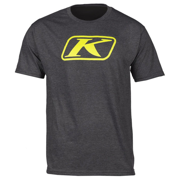 KLIM Icon T Shirts Men's Casual Klim Charcoal Gray SM