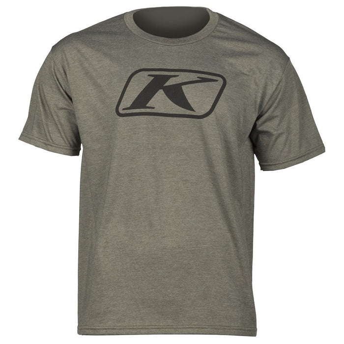 KLIM Icon T Shirts Men's Casual Klim Olive Green SM