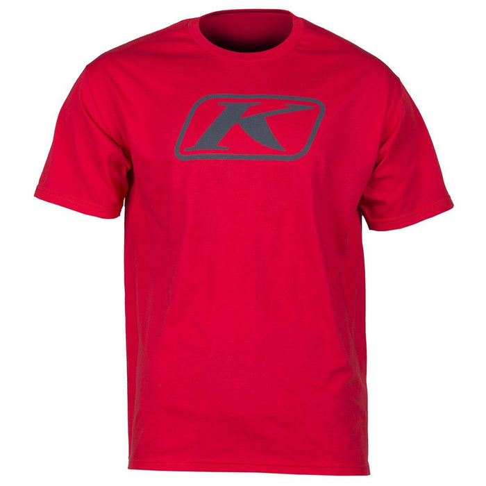 KLIM Icon T Shirts Men's Casual Klim Red SM