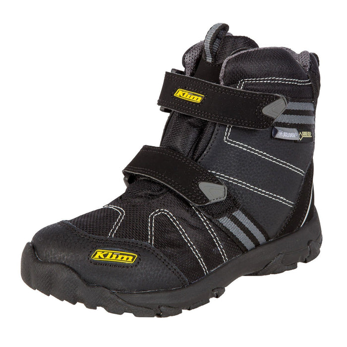 KLIM Klimate Boot Black Child & Youth Snowmobile Boots Klim