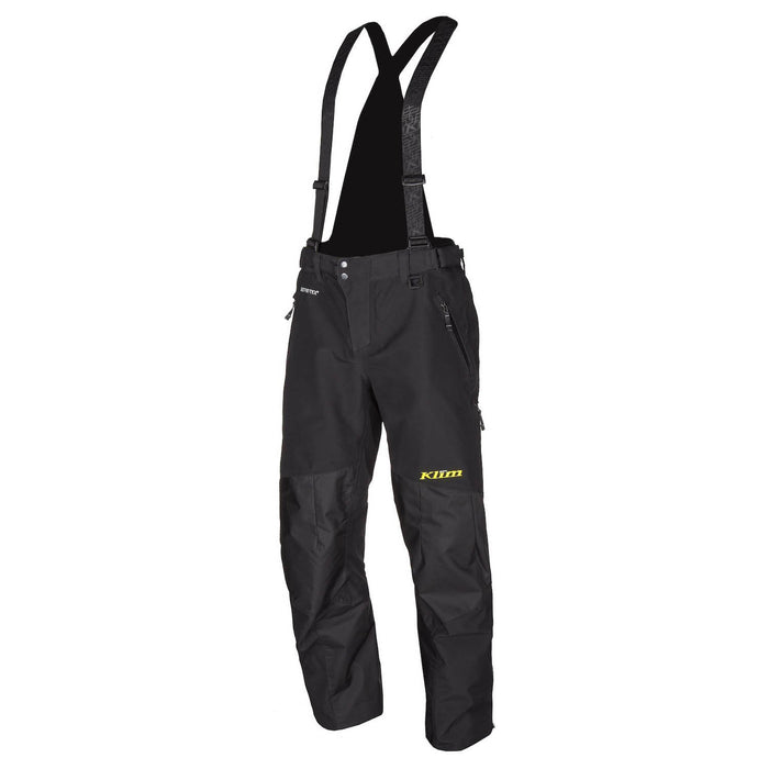 KLIM Powerhawk Pant - Bib Men's Snowmobile Pants Klim Black SM