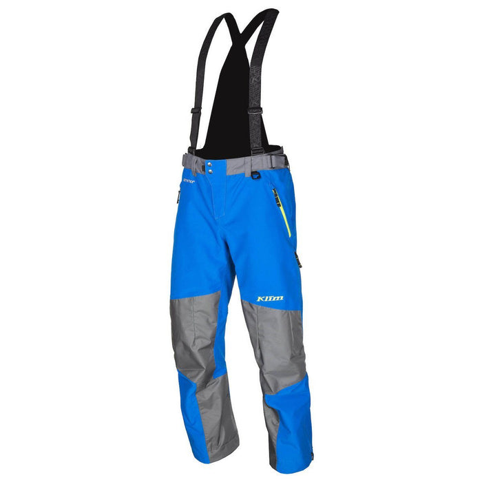 KLIM Powerhawk Pant - Bib Men's Snowmobile Pants Klim Blue MD