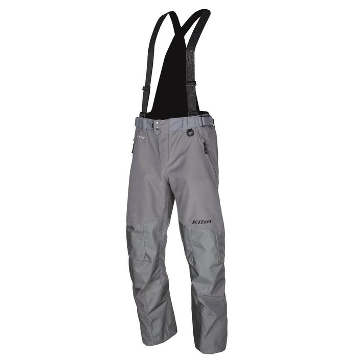 KLIM Powerhawk Pant - Bib Men's Snowmobile Pants Klim Gray MD