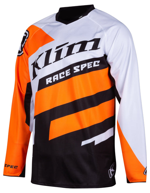 KLIM Race Spec Youth Jerseys Youth Motocross Jerseys Klim White YMD