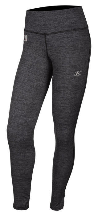 KLIM Solstice Pant 2.0 - NEW COLORWAY! Women's Base Layers Klim Black Heather XS
