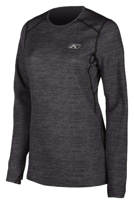 KLIM Solstice Shirt 3.0 - NEW COLORWAY! Women's Base Layers Klim Black Heather XS