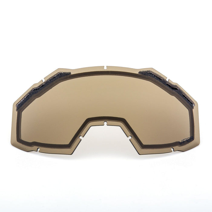 KLIM Viper Replacement DBL Lens Light Brown Polarized Snowmobile Goggles Klim