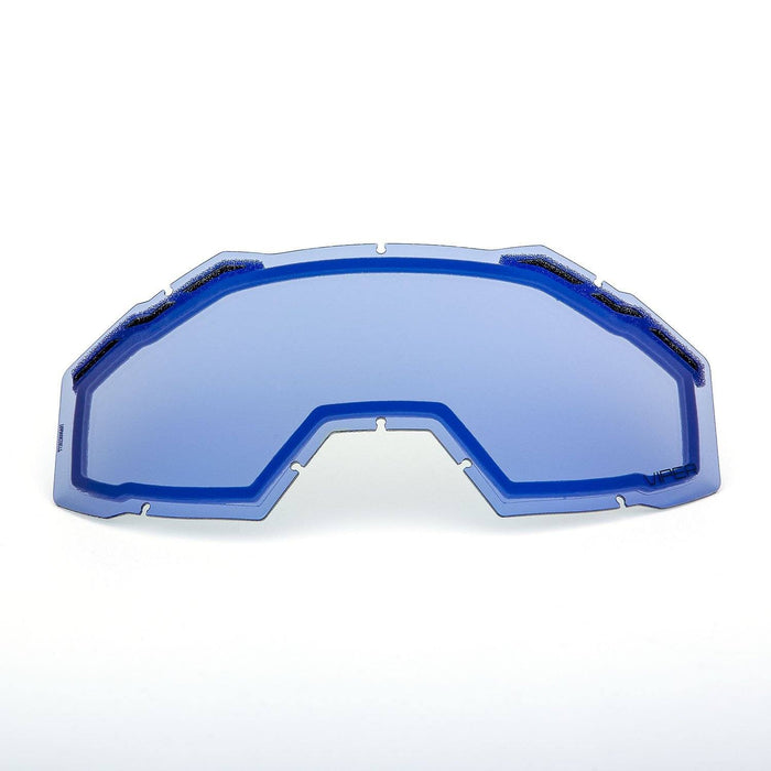 KLIM Viper Replacement DBL Lens Light Smoke Blue Mirror Snowmobile Goggles Klim