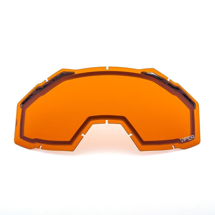 KLIM Viper Replacement DBL Lens Orange Tint Snowmobile Goggles Klim