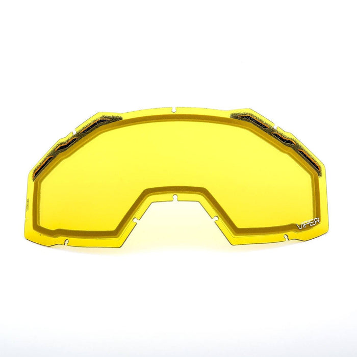 KLIM Viper Replacement DBL Lens Yellow Tint Snowmobile Goggles Klim