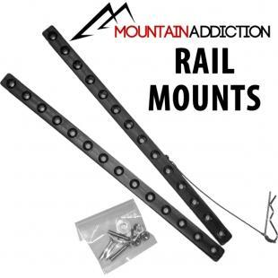 Mountain Addiction Mounting rails only Mountain Addiction Mountain Addiction