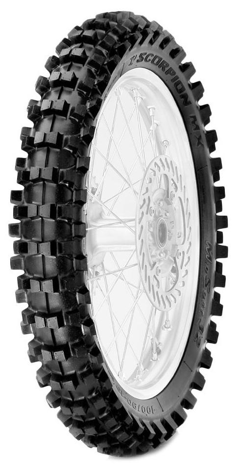PIRELLI SCORPION MX32 MS MUD REAR Motocross Tires Pirelli
