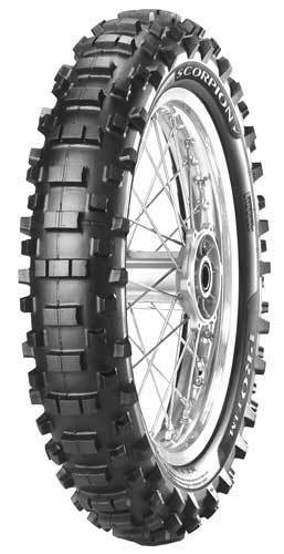 PIRELLI SCORPION PRO REAR Motocross Tires Pirelli