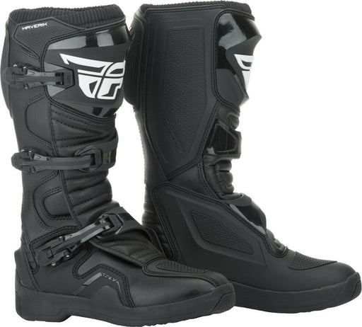 FLY RACING Maverik MX Boots in Black