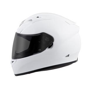 Scorpion Helm EXO-R710 Solid Snell 2015/Dot in White Motorcycle Helmets Scorpion