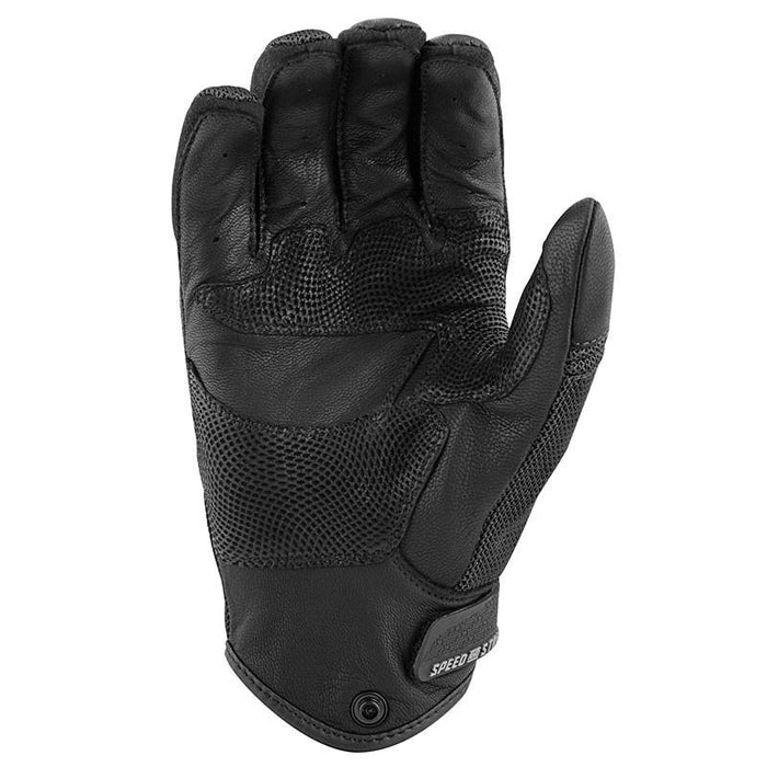 SPEED AND STRENGTH Power and The Glory™ Leather/Mesh Gloves Men's Motorcycle Gloves SPEED AND STRENGTH