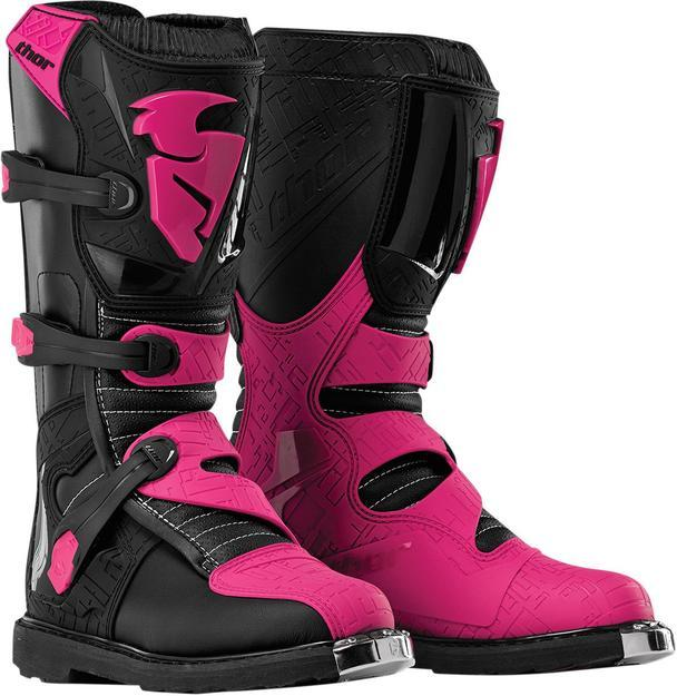 Thor Blitz Women's Boots Motocross Boots Thor Black/Pink 5