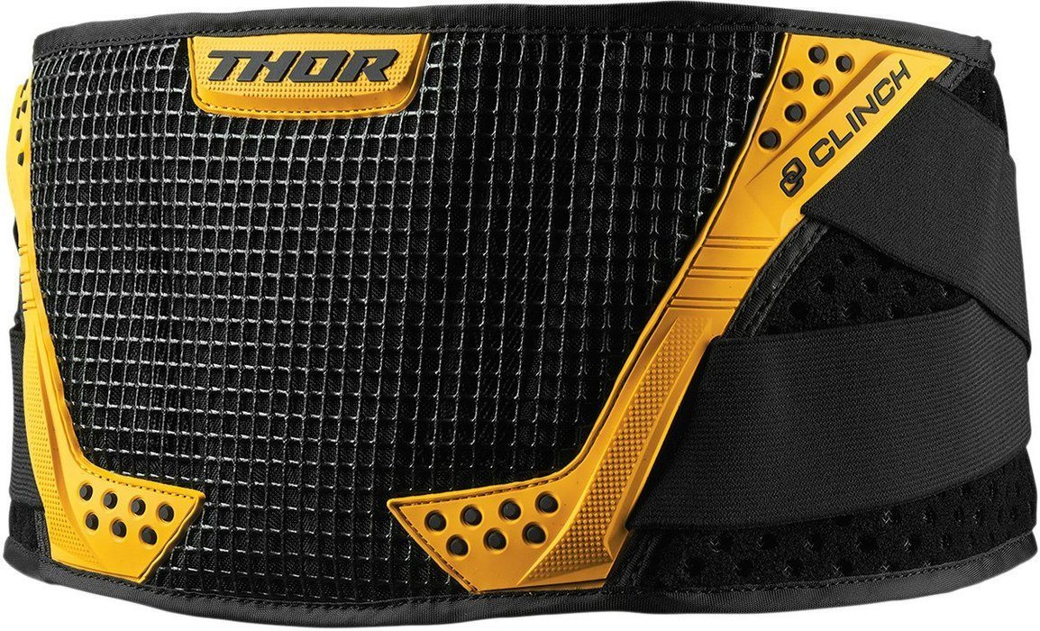 Thor Clinch Belts Body Armour & Protection Thor Black/Yellow S/M