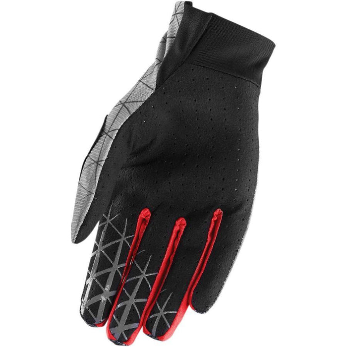 THOR GLOVE S8 VOID VAWN BLACK/RED Motocross Gloves Thor