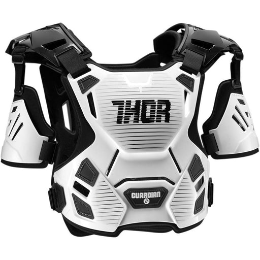Thor Guardian Chest and Back Protector Body Armour & Protection Thor White/Black M/L