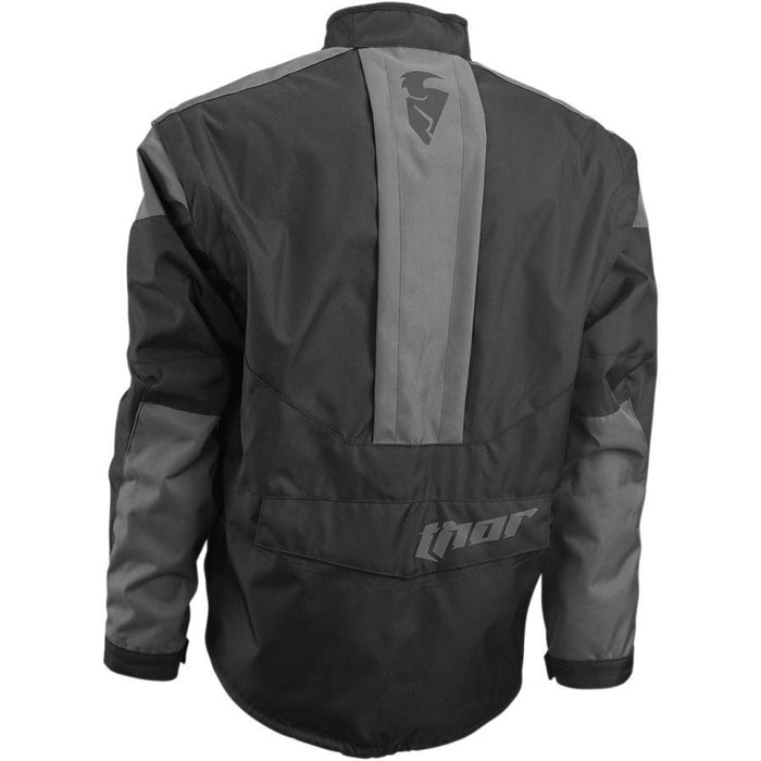 THOR JACKET S6 PHASE BLACK/CHARCOAL Offroad Jackets Thor