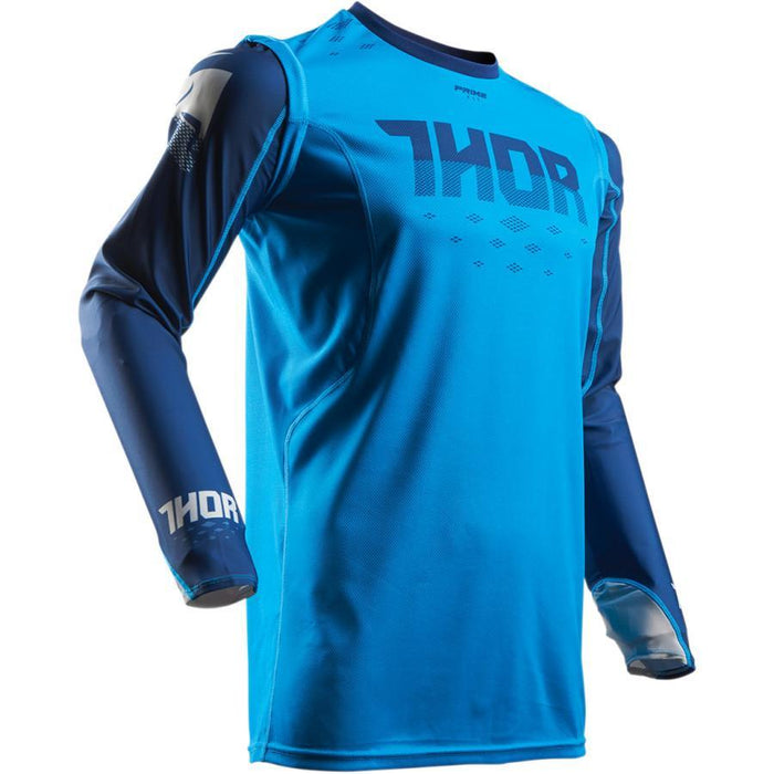 THOR JERSEY S7 PRIME FIT ROHL BLUE/NAVY Men's Motocross Jerseys Thor