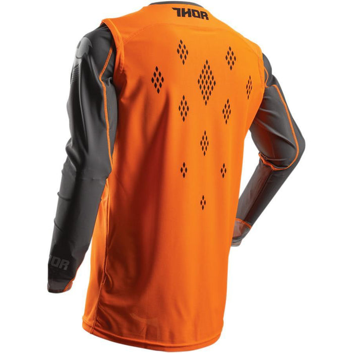 THOR JERSEY S7 PRIME FIT ROHL ORANGE/GRAY Men's Motocross Jerseys Thor