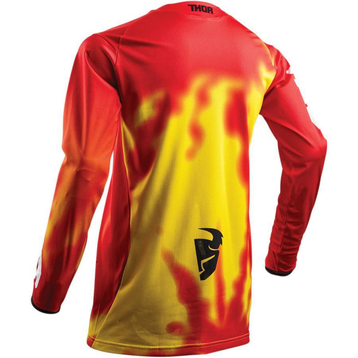 THOR JERSEY S8 PULSE AIR RADIATE RED Men's Motocross Jerseys Thor