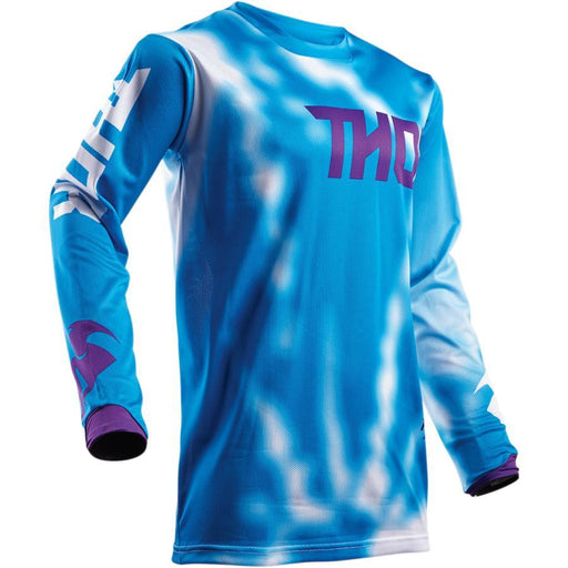 THOR JERSEY YOUTH PULSE AIR RADIATE BLUE Youth Motocross Jerseys Thor