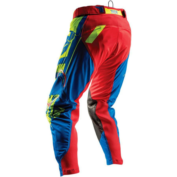 THOR PANT PRIME FIT PARADIGM LIME/BLUE Men's Motocross Pants Thor