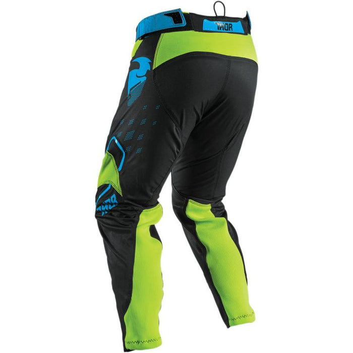 THOR PANT PRIME FIT ROHL FLO GREEN/BLACK Men's Motocross Pants Thor