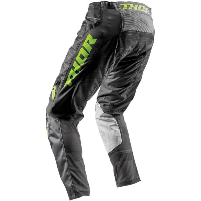 THOR PANT WOMEN'S PULSE DASHE GRAY/LIME Women's Motocross Pants Thor