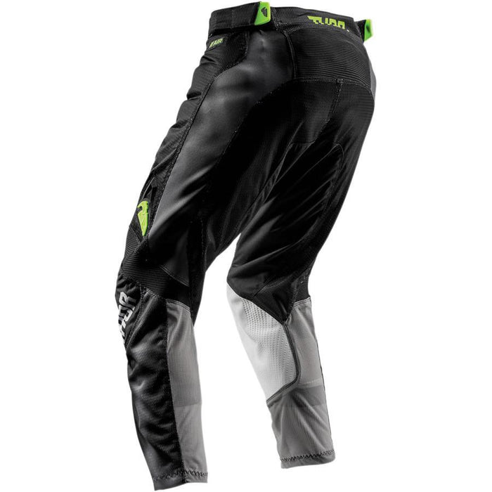 THOR PANT YOUTH PULSE AIR RADIATE BLACK Youth Motocross Pants Thor