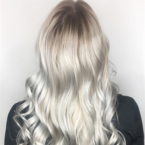 Color Correction: Damaged To Icy—And Healthy—Platinum
