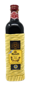 Mazzetti Balsamic Vinegar 2 Leaf Rating, 16.5 Oz Rattan Bottle - Free Shipping