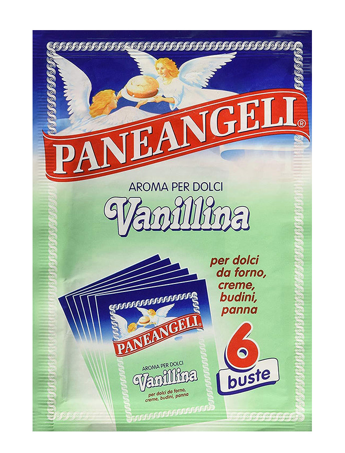 Paneangeli Vanillina - Powdered Vanilla Extract -Italian Import
