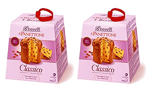 Bauli Holiday Panettone Italian Import 2.2 Pound Christmas 2018 - 2 Pack!