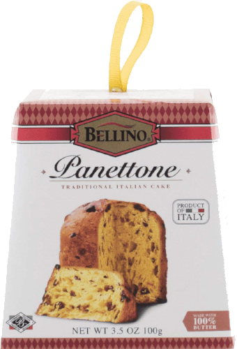 Bellino Mini Panettone (individual Serving) 2.8 Ounces Each - Non GMO 6 - Pack (Panettone)