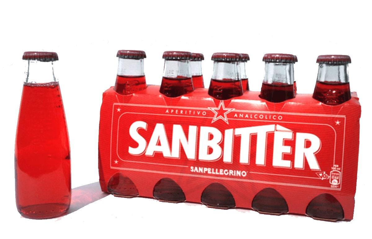 Beverage - San Pellegrino Sanbitter RED 10 X 3.4 OZ Bottles