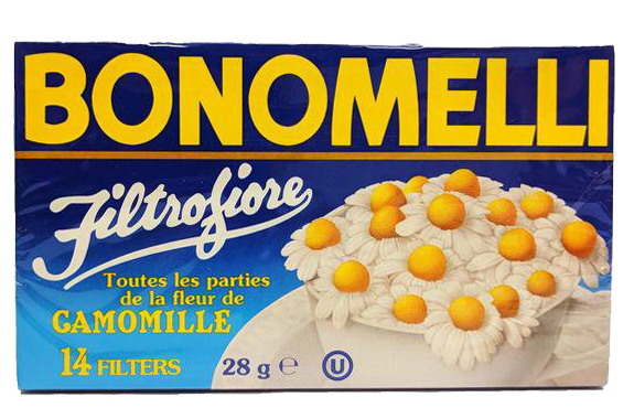 Bonomelli Chamomile Tea Bags, 14-Count Box (Pack of 6)  Free Shipping