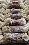 Cannoli - Frank And Sal Cannoli Shells - 5 Inch Hand Made Fresh Daily 12 Pack- Frank And Sal Bakery - Free Shipping