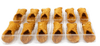 Mini Cannoli Shells - Light and Flaky - 24 Shells - Frank and Sal Bakery - 3 Inch