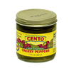 Cento Products - Cento Hot Cherry Peppers Stuffed 8 Oz (Pack Of 6)