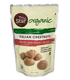 TruStar Organic Italian Chestnuts 6 Pack - Peeled and Ready to Eat.