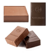 Chocolate - Callebaut Finest Belgian Milk And Semisweet Blocks - Approximately 1 Pound Per Block - 2 Blocks