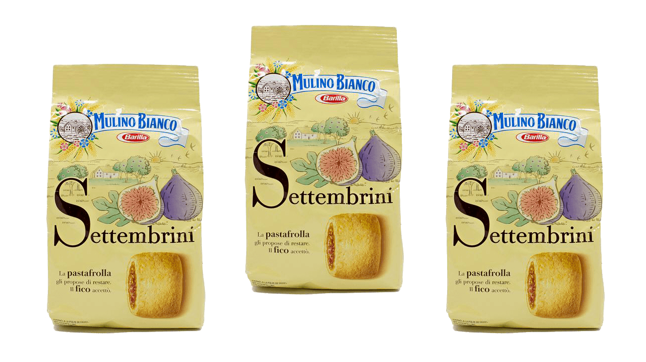 Cookies - Mulino Bianco Settembrini Fig Cookies  8.8 Oz - 3 Pack Free Shipping