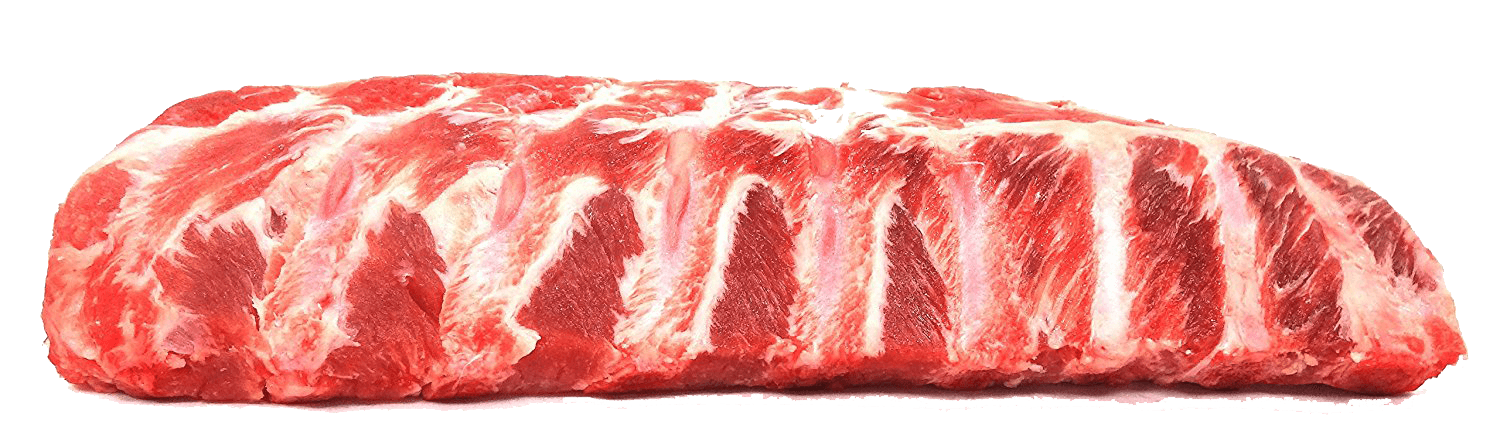 Fresh Local Meat Delivery - Baby Back Ribs (Full Rack) Cut Fresh Daily (1.50 Pounds)