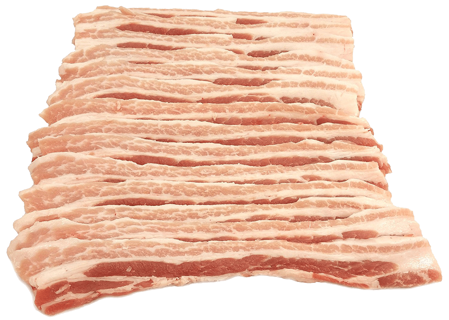 Fresh Local Meat Delivery - Frank And Sal Fresh Cut Sliced Pork Belly (Pancetta) 2 Pounds
