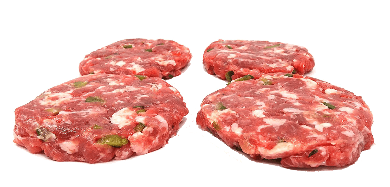 Fresh Local Meat Delivery - Fresh Made Daily Sausage Patties (4 Patties 1/4 Pound)