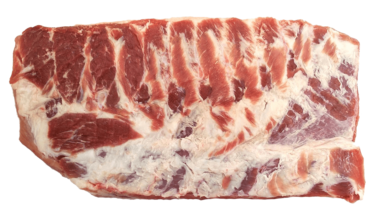 Fresh Local Meat Delivery - Pork Belly Without Bone (6 Pounds) Skin On Whole Cut - Cut Fresh Daily